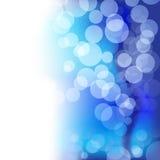Fondo azul borroso Foto de archivo libre de regalías