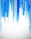 Fondo azul brillante de la tecnología Foto de archivo libre de regalías