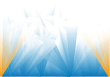 Fondo azul chispeante Fotografía de archivo libre de regalías