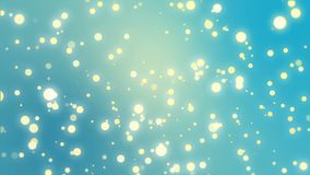 Fondo azul chispeante del brillo