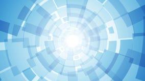 Fondo azul claro con rectángulos libre illustration