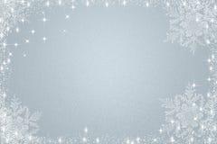 Fondo azul claro de la Navidad Imagen de archivo libre de regalías