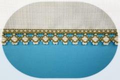 Fondo azul con el streep Imagen de archivo libre de regalías
