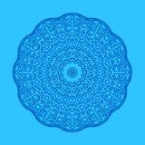 Fondo azul con forma abstracta Fotos de archivo libres de regalías