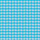 Fondo azul con los felices bebés de los ángeles libre illustration