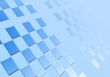 Fondo azul. Cuadrado ilustración del vector