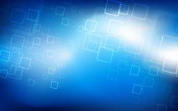 Fondo azul de alta tecnología Vector Imágenes de archivo libres de regalías
