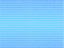 Fondo azul de código binario Fotografía de archivo libre de regalías