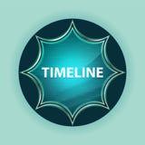 Fondo azul de azul de cielo del botón del resplandor solar vidrioso mágico de la cronología libre illustration