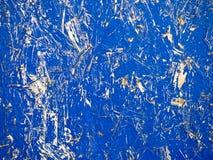 Fondo azul de Grunge del conglomerado Fotografía de archivo