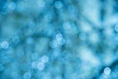 Fondo azul de la chispa Imagen de archivo