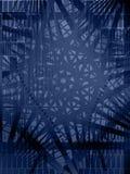 Fondo azul de la dimensión de una variable del vector Fotografía de archivo