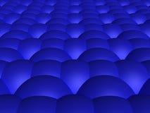 Fondo azul de la esfera Fotografía de archivo