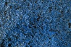 Fondo azul de la foto de la burbuja Fotos de archivo libres de regalías