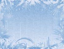 Fondo azul de la helada. ilustración del vector