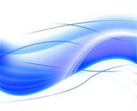Fondo azul de la onda Fotos de archivo libres de regalías