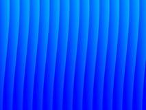 Fondo azul de la onda Fotografía de archivo