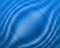 Fondo azul de la onda Foto de archivo