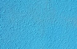 Fondo azul de la pared Imagenes de archivo