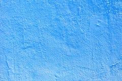 Fondo azul de la pared de la textura del cemento Fotos de archivo libres de regalías