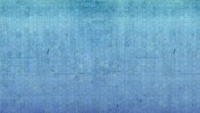 Fondo azul de la pared del grunge sucio inconsútil del hexágono ilustración del vector