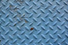 Fondo azul de la placa del diamante Imagenes de archivo