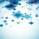 Fondo azul de la tecnología Imágenes de archivo libres de regalías