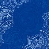 Fondo azul de la tecnología libre illustration