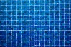 Fondo azul de la teja Fotografía de archivo libre de regalías
