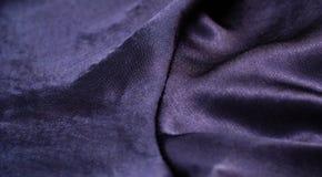 Fondo azul de la tela Fotografía de archivo libre de regalías