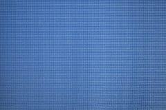 Fondo azul de la textura de la estera de la yoga Imagen de archivo libre de regalías