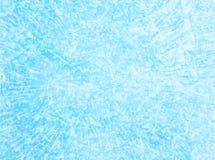Fondo azul de la textura del hielo Foto de archivo
