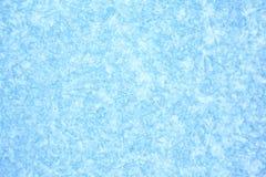 Fondo azul de la textura del hielo Imagen de archivo