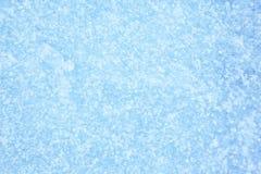 Fondo azul de la textura del hielo Imagen de archivo libre de regalías