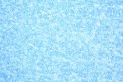 Fondo azul de la textura del hielo Fotografía de archivo libre de regalías