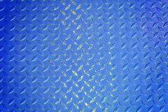 Fondo azul de la textura del metal Foto de archivo libre de regalías