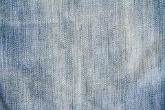 Fondo azul de la textura del modelo de la mezclilla del dril de algodón imagen de archivo libre de regalías
