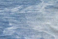 Fondo azul de la textura del modelo de la mezclilla del dril de algodón foto de archivo libre de regalías