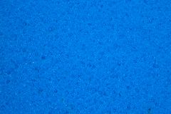 Fondo azul de la textura de la esponja Fotografía de archivo