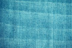 Fondo azul de la textura de la tela de la mezclilla imagen de archivo
