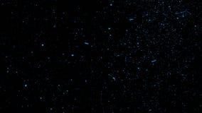 Fondo azul de las luces del brillo Las part?culas oscuras abstractas del fuego del brillo encienden textura o las capas de la tex libre illustration