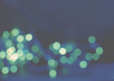 Fondo azul de luz verde Imagenes de archivo