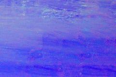 Fondo azul decorativo de la pared del estuco del Grunge hermoso del extracto imagenes de archivo