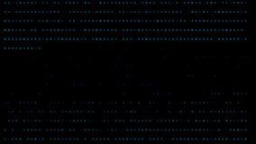 Fondo azul del AI de la inteligencia artificial de Tron ilustración del vector