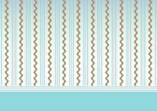 Fondo azul del bebé Imagen de archivo