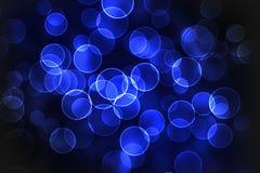 Fondo azul del bokeh imagen de archivo libre de regalías