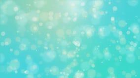 Fondo azul del bokeh del trullo que brilla intensamente hermoso
