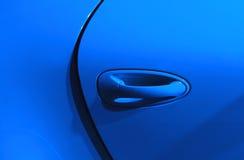 Fondo azul del coche Imagen de archivo