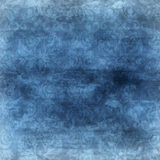 Fondo azul del damasco Imágenes de archivo libres de regalías
