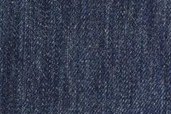 Fondo azul del dril de algodón Foto de archivo